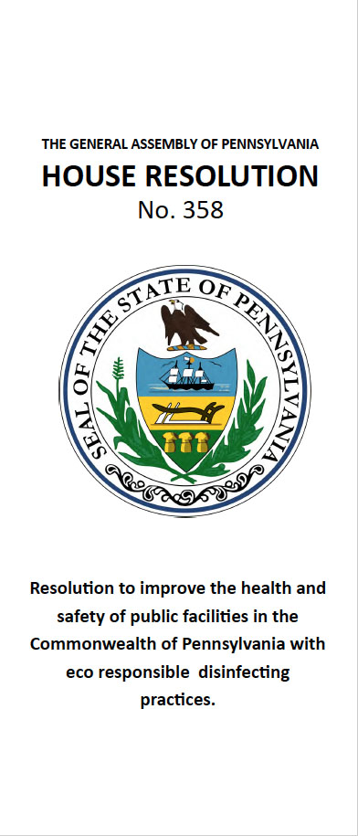 House Resolution 358 - Improving health and safety of public facilities