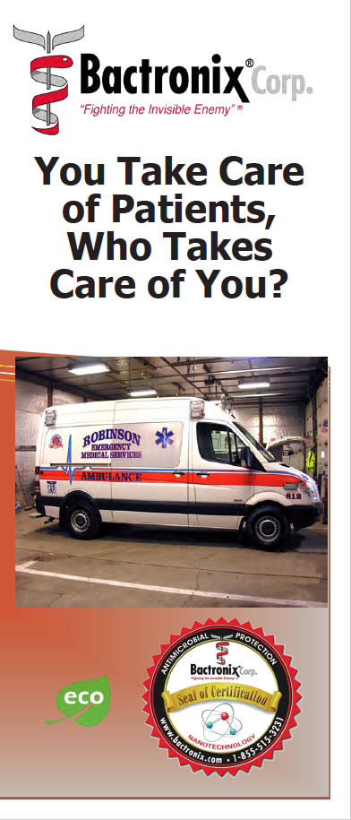 Disinfecting EMS - Ambulance Sanitization