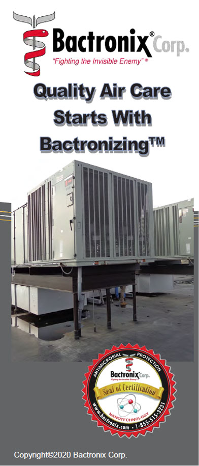 Disinfect Heating and Air Conditioning for a safer environment