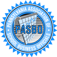 Pennsylvania Association of School Business Officials logo representing partnership with mold removal services provider Bactronix in Moon, PA
